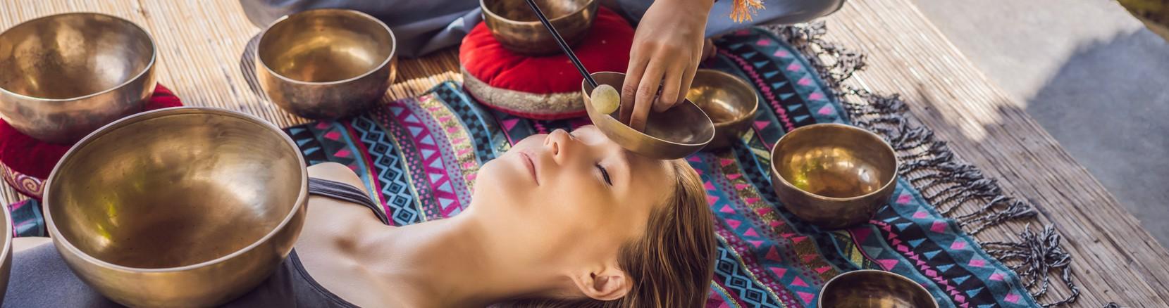 Introducción a la Terapia vibracional con cuencos y gong