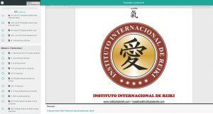 Captura Curso online Reiki N 1,2 y Terapeuta Javier Robas